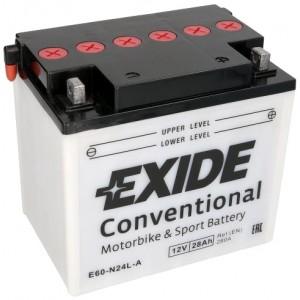 EXIDE BIKE Y60-N24L-A 28AH 280A 12V R+