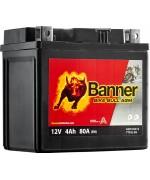 BANNER BIKE BULL AGM YTX5L-BS 4AH 80A R+ 1