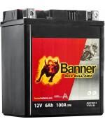 BANNER BIKE BULL AGM YTX7L-BS 6AH 100A R+
