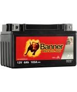 BANNER BIKE BULL AGM YTX7A-BS 6AH 105A L+