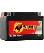 BANNER BIKE BULL AGM YTX9-BS 8AH 110A L+