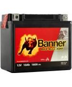 BANNER BIKE BULL AGM YTX12-BS 10AH 160A L+
