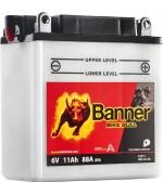 BANNER BIKE BULL 6N11A-3A 11AH 140A 6V