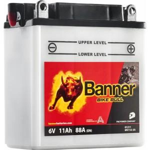 Акумулатори BANNER BIKE BULL 6N11A-3A 11AH 140A 6V