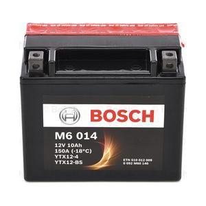 BOSCH M6 AGM YTX12-BS 10AH 150A 12V L+