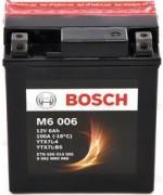 BOSCH M6 AGM YTX7L-BS 6AH 100A 12V R+