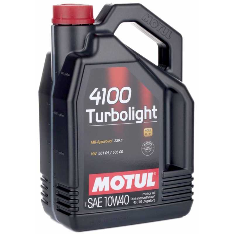 MOTUL 4100 TURBOLIGHT 10W-40 4L