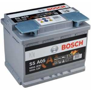 Акумулатор BOSCH S5 AGM 60AH 680A R+