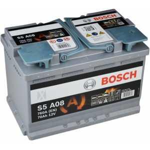 Акумулатор BOSCH S5 AGM 70AH 760A  R+