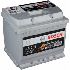 Акумулатор BOSCH SILVER S5 54AH 530A R+