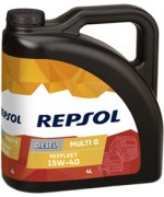 REPSOL MIXFLEET 15W-40 4L