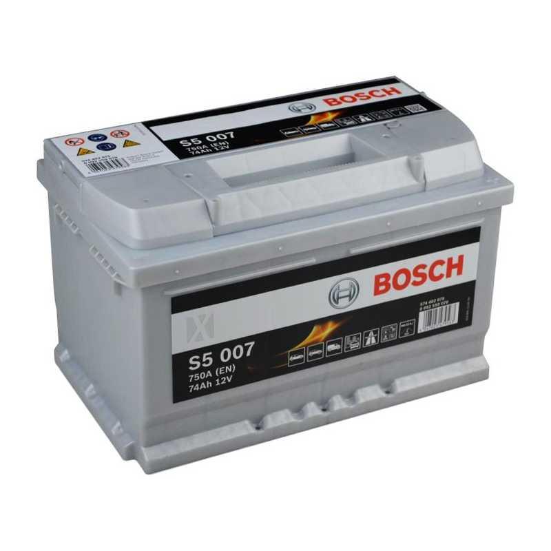 BOSCH SILVER S5 74AH 750A R+