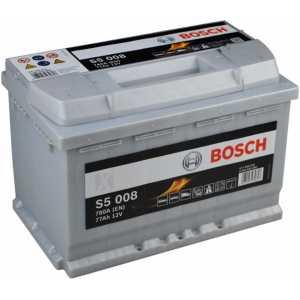 Акумулатор BOSCH SILVER S5 77AH 780A R+