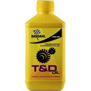 Трансмисионно масло BARDAHL T&D SYNTETHIC OIL 80W-90 1L