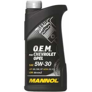 MANNOL O.E.M. OPEL, CHEVROLET  5W-30 1L