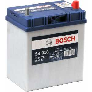 Акумулатор BOSCH ASIA SILVER S4 40AH 330A R+