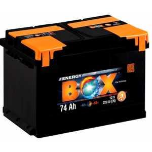 Акумулатор ENERGY BOX 74AH 720A R+
