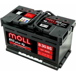 MOLL M3 PLUS 85AH 710A R+