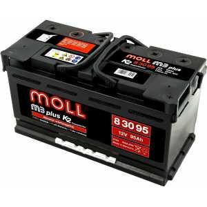 MOLL M3 PLUS 95AH 800A R+