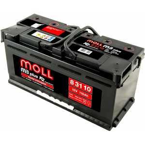 MOLL M3 PLUS 110AH 850A R+