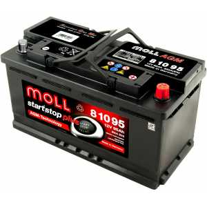 MOLL START/STOP PLUS AGM 95AH 850A R+