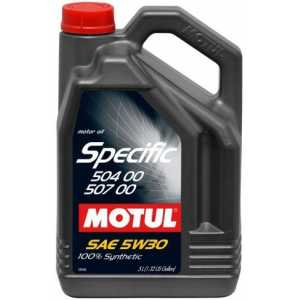 MOTUL SPECIFIC VW 504.00/507.00 5W-30 5L