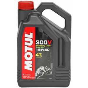 MOTUL 300V 4T FACTORY LINE 15W-50 4L