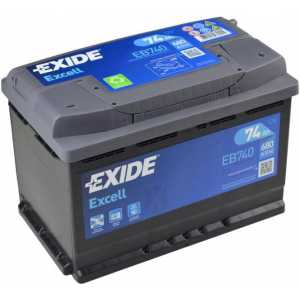 Акумулатор EXIDE EXCELL 74AH 680A R+