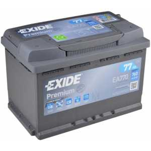 Акумулатор EXIDE PREMIUM 77AH 760A R+