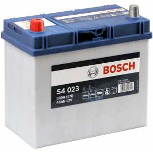 Акумулатор BOSCH ASIA SILVER S4 45AH 330A L+