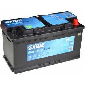 Акумулатор EXIDE AGM 95AH 850A R+