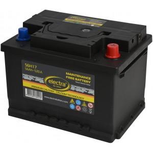 Акумулатори ELECTRA 56AH 520A R+