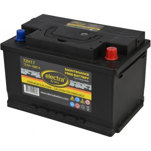Акумулатор ELECTRA 72AH 680A R+