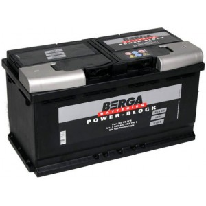 Акумулатори BERGA POWER BLOCK 100AH 830A R+