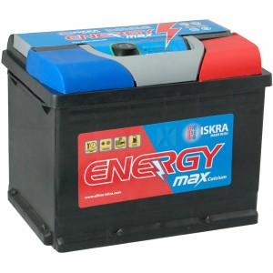 Акумулатори ISKRA MAX ENERGY 62Ah 540A R+