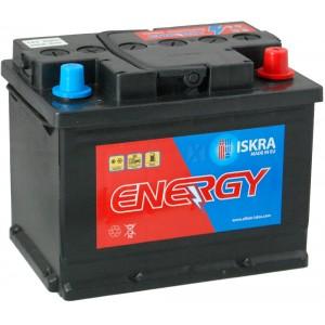 Акумулатори ISKRA ENERGY 62AH 600A R+