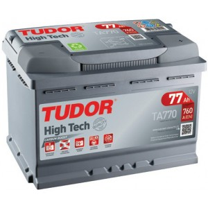 Акумулатори TUDOR HIGH TECH 77AH 760A R+