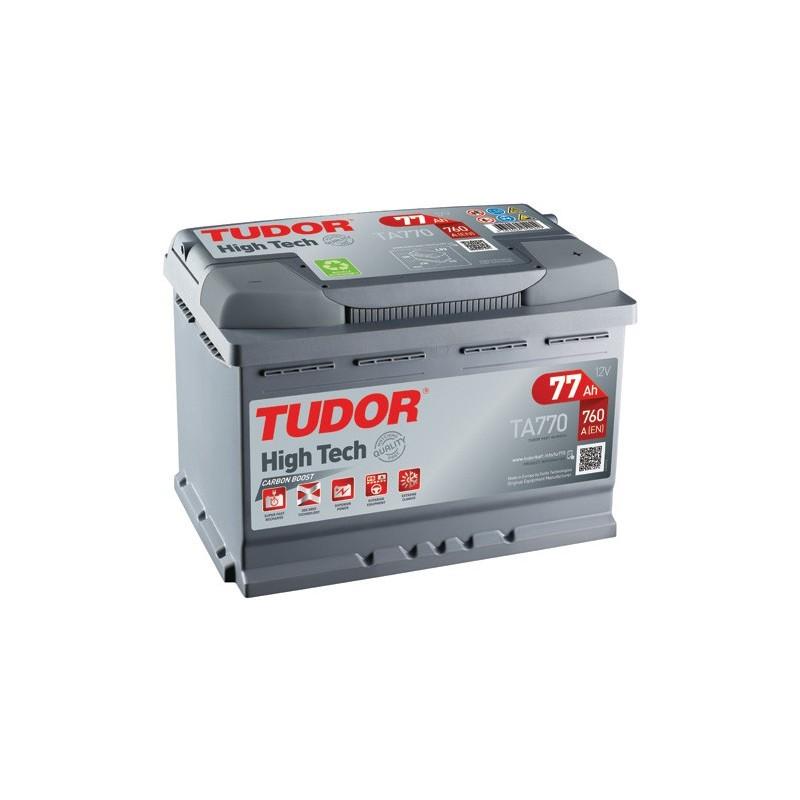 TUDOR HIGH TECH CARBON BOOST 77AH 760A R+