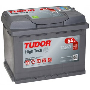 Акумулатори TUDOR HIGH TECH 64AH 640A R+