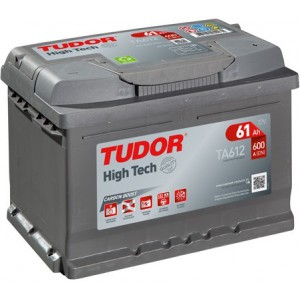 Акумулатори TUDOR HIGH TECH 61AH 600A R+