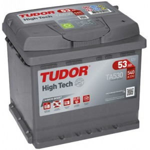 Акумулатори TUDOR HIGH TECH 53AH 540A R+