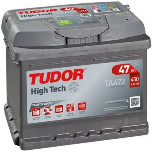 Акумулатори TUDOR HIGH TECH 47AH 450A R+