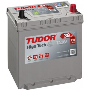 Акумулатори TUDOR HIGH TECH 38AH 300A R+ JIS