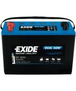 EXIDE DUAL AGM 100AH 720A L+