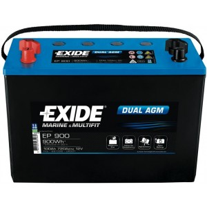 Акумулатор EXIDE DUAL AGM 100AH 720A L+