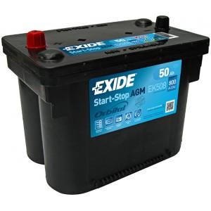 Акумулатор EXIDE START STOP AGM 50AH 800A L+