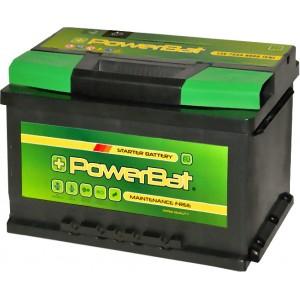 POWERBAT 75AH 670A R+