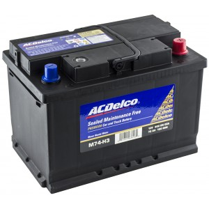 Акумулатор ACDELCO 72AH 600A R+