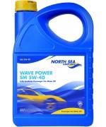 NORTH SEA WAVE POWER SM 5W-40 5L