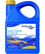 NORTH SEA WAVE POWER LE 5W-40 5L